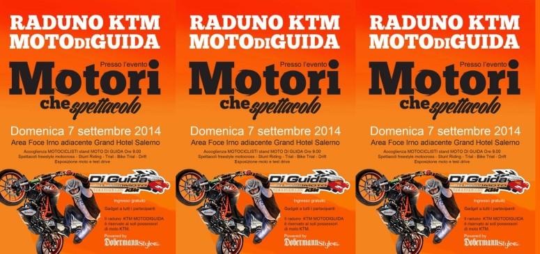 Il primo raduno Monomarca KTM per il Sud Italia organizzato da Moto Di Guida concessionario KTM per Salerno e provincia