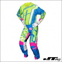 JT Racing USA 2017 Hyperlite Breaker Flo Green/Cyan/Pink