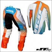 JT Racing USA 2017 Hyperlite Revert Cyan/Flo Orange/White