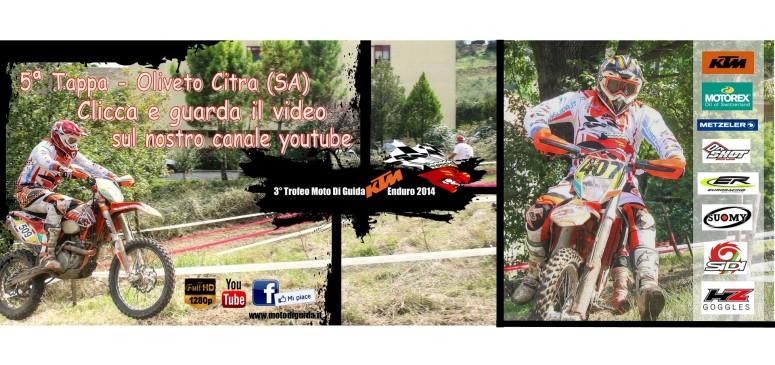 Video 5ª Tappa Oliveto Citra 3° Trofeo Moto Di Guida KTM Enduro
