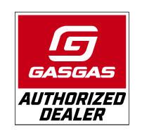 2015_GasGas Logo authorized dealer S RZ